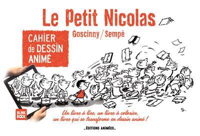 cahier de dessin animé ; le Petit Nicolas