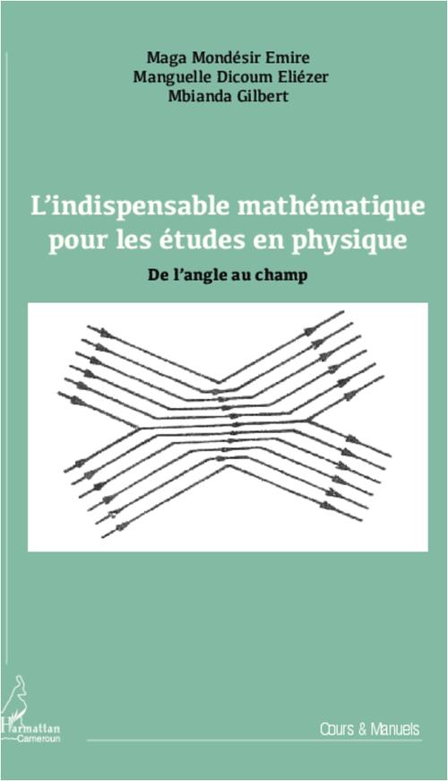 L'indispensable mathématique pour les études en physique ; de l'angle au champ
