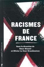 Couverture de Racismes de france
