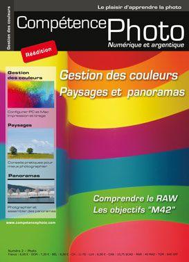 Competence photo t.2; gestion des couleurs, paysages et panoramas