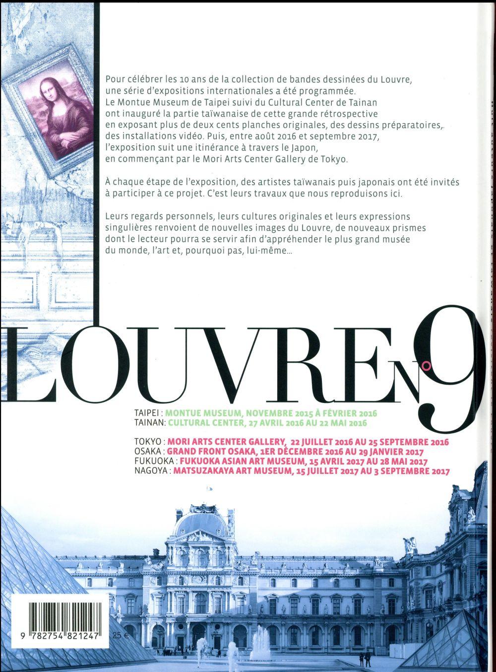 Les rêveurs du Louvre ; huit auteurs japonais et taïwanais revisitent le Louvre
