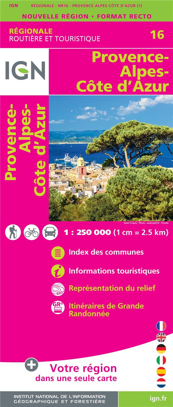 NR16 ; Provence-Alpes-Côte d'Azur