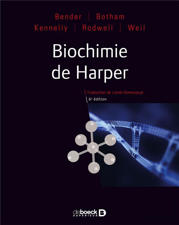 Biochimie De Harper (6e Edition)