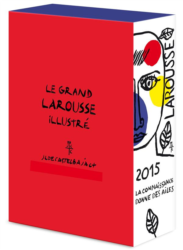 Le grand larousse illustré ; coffret Noël (édition 2015)