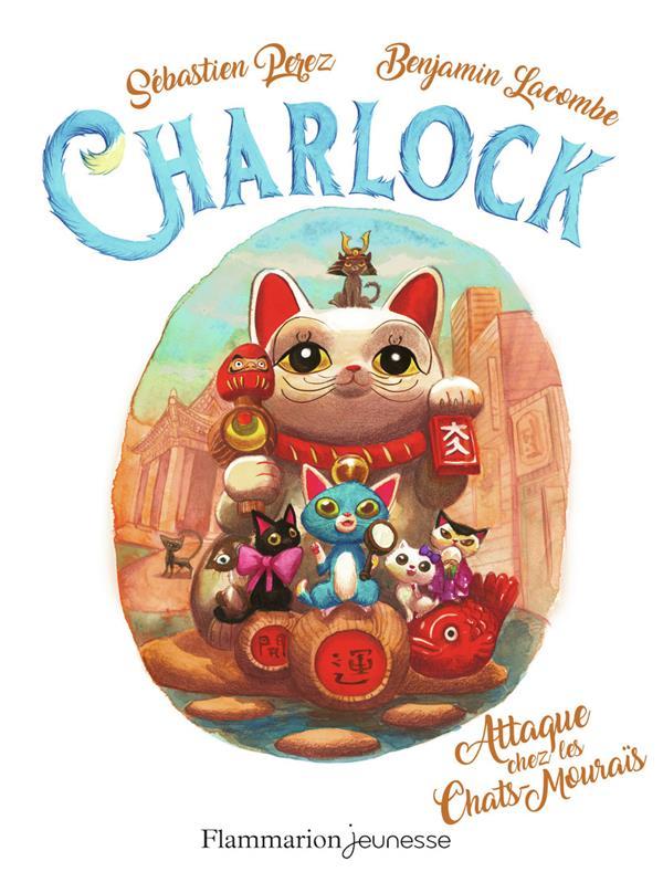 Charlock t.4 ; attaque chez les chat-mourais