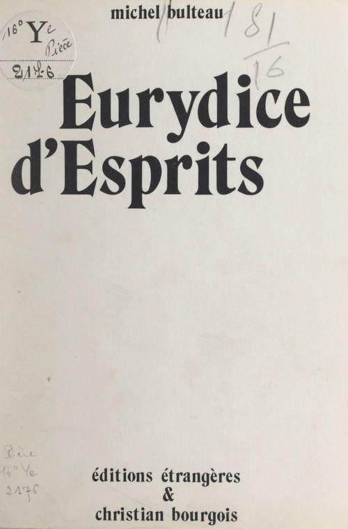 Eurydice d'esprits