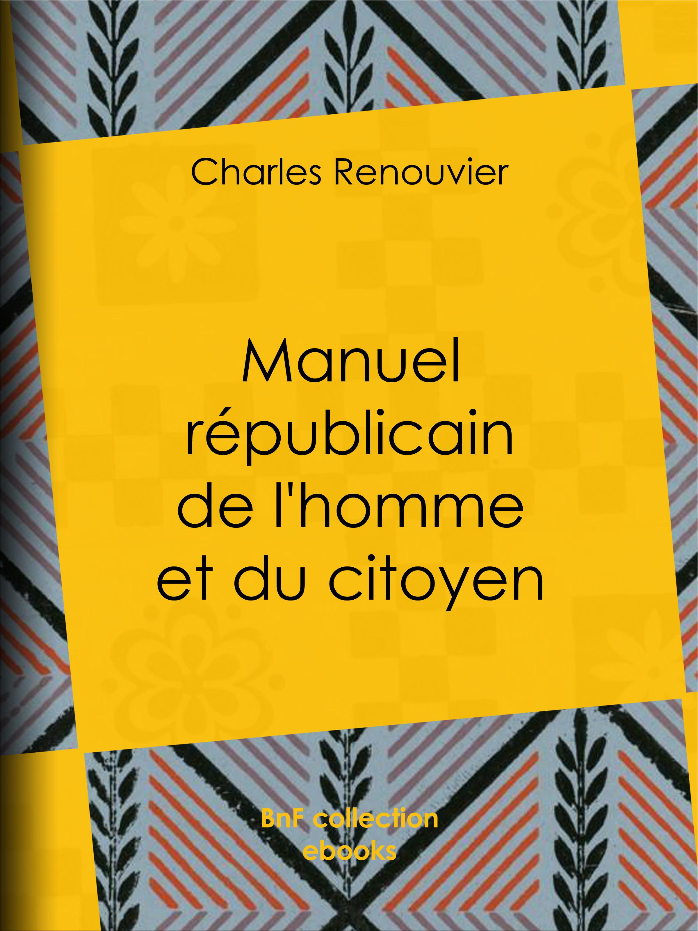 Manuel républicain de l'homme et du citoyen