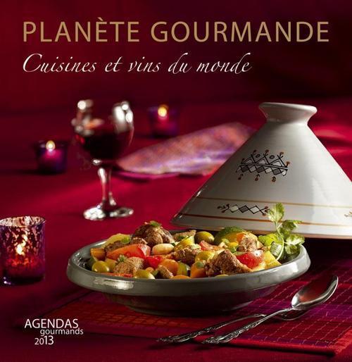 Planètes gourmandes ; agenda (édition 2013) ; coffret