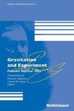 Vente EBooks : Gravitation and Experiment  - Thibault DAMOUR - Vincent Rivasseau