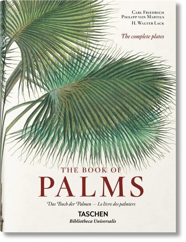 the books of palms ; das buch der palmen ; le livre des palmiers