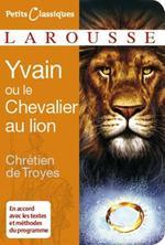 Couverture de Yvain ou le chevalier au lion