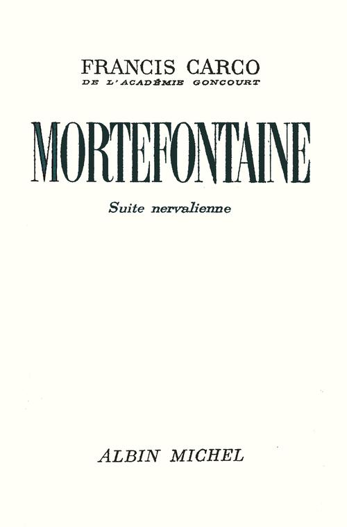 Mortefontaine
