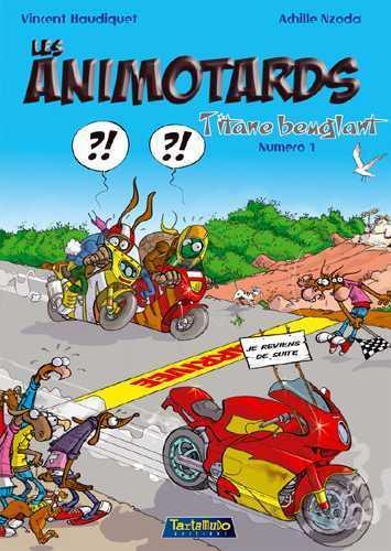 Les animotards t.1 ; titane beuglant