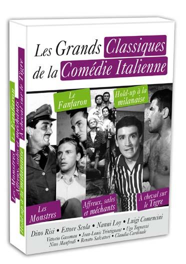 Les Grands classiques de la comédie italienne - Coffret