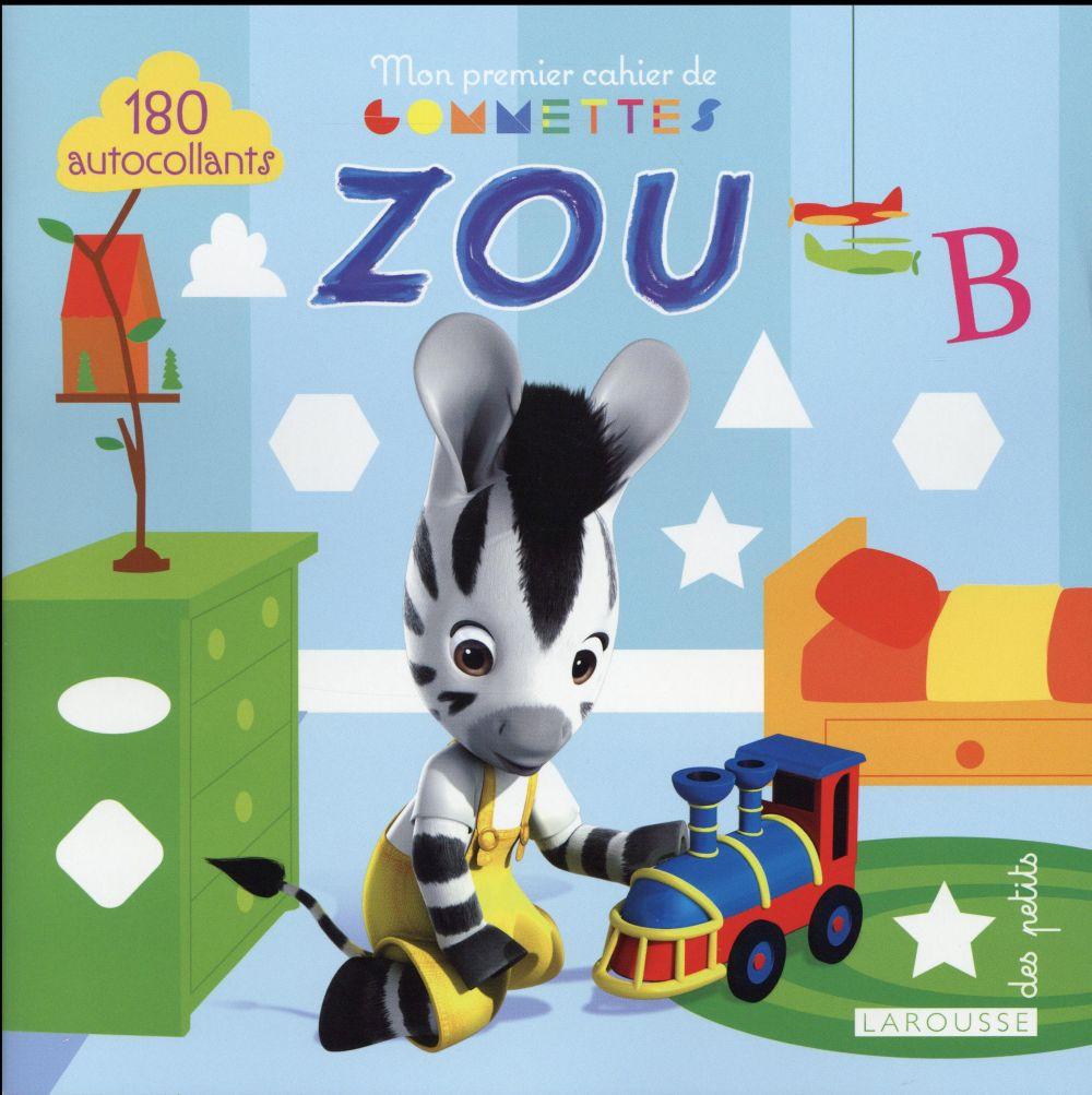Mon premier cahier de gommettes Zou