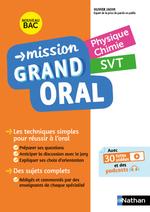 Vente Livre Numérique : Mission Grand Oral - Physique Chimie / SVT - Terminale - Nouveau Bac  - Nicolas Coppens - Olivier Jaoui - Laurent Lafond