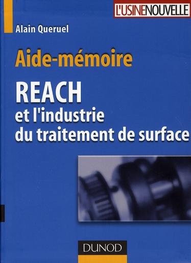Aide-Memoire Reach Et L'Industrie Du Traitement De Surface