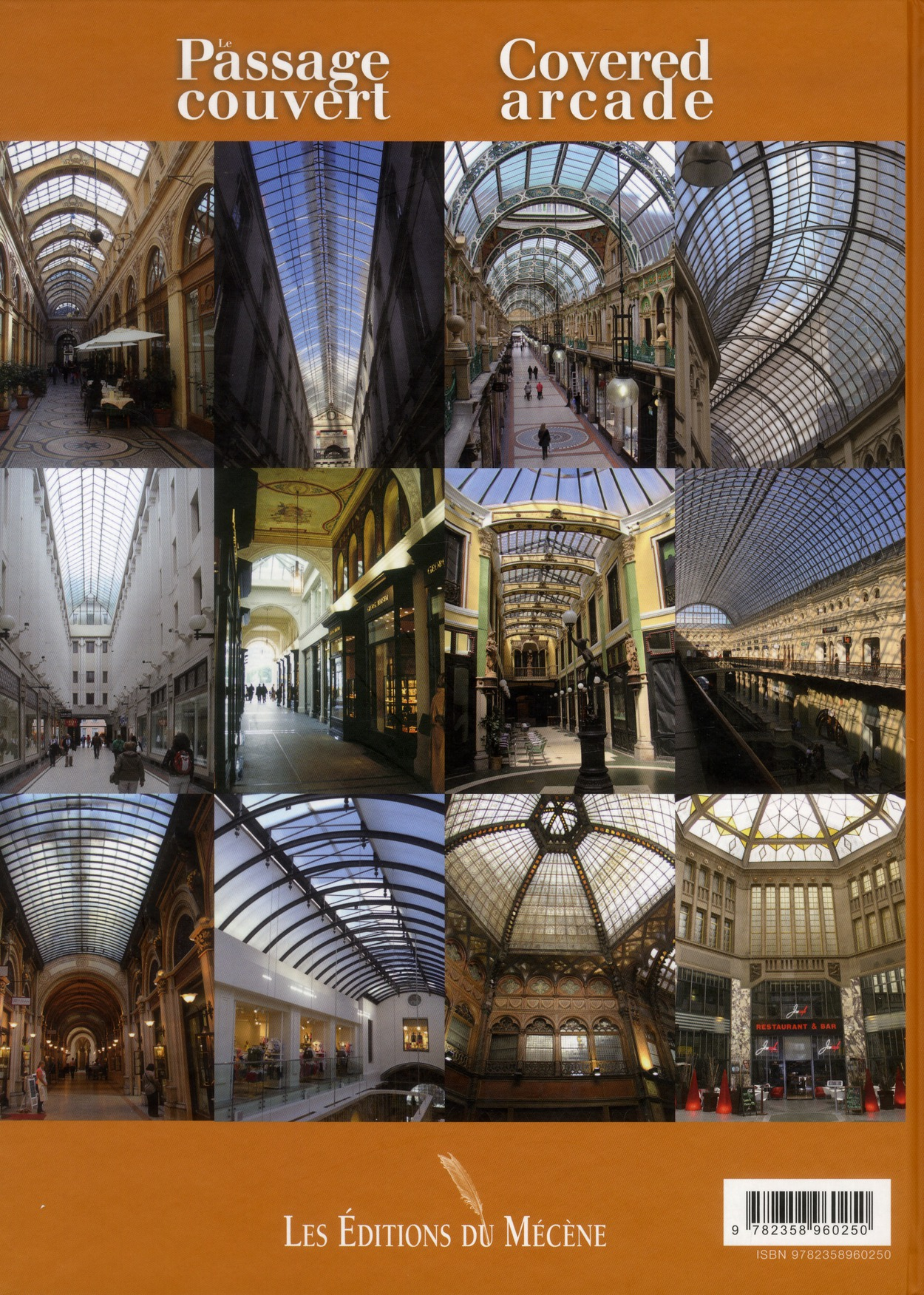 Le passage couvert/covered arcade
