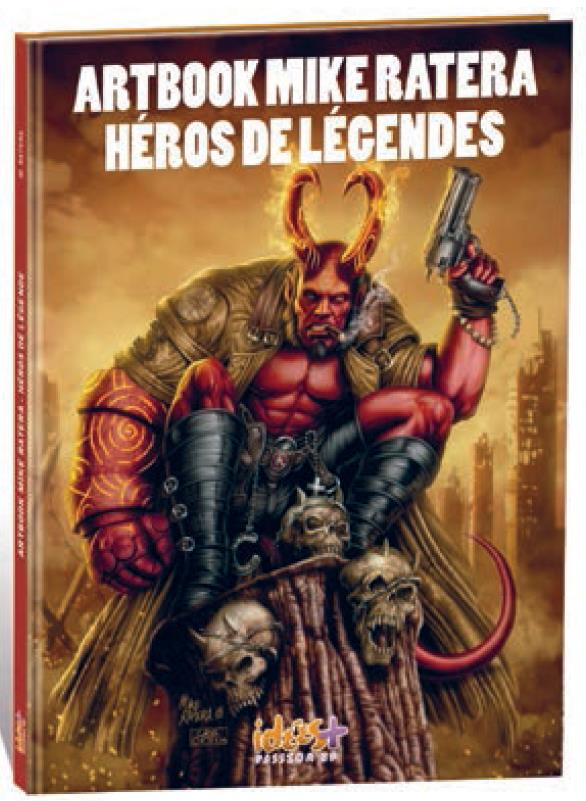Héros de légendes ; artbook