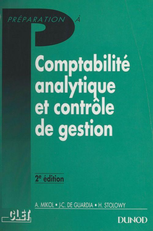 Comptabilité analytique et contrôle de gestion
