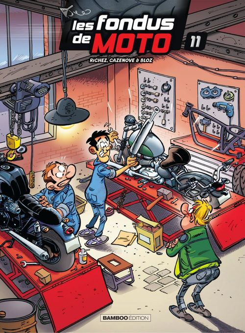 Les fondus de la moto - Tome 11  - Bloz