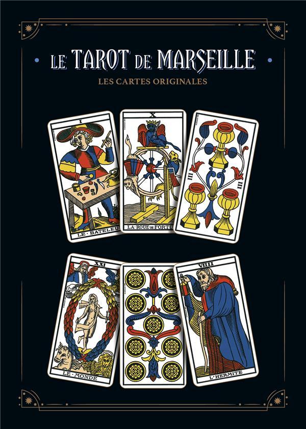 le tarot de Marseille : le livre & le jeu original de Grimaud ; coffret