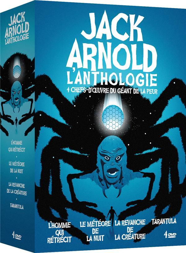 Jack Arnold, l'anthologie - 4 chefs-d'oeuvre du géant de la peur : L'Homme qui rétrécit + Le Météore de la nuit + La Revanche de la créature + Tarantula