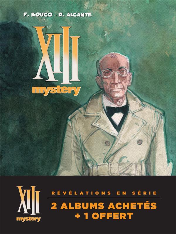 XIII Mystery ; COFFRET VOL.2 ; T.4 A T.6
