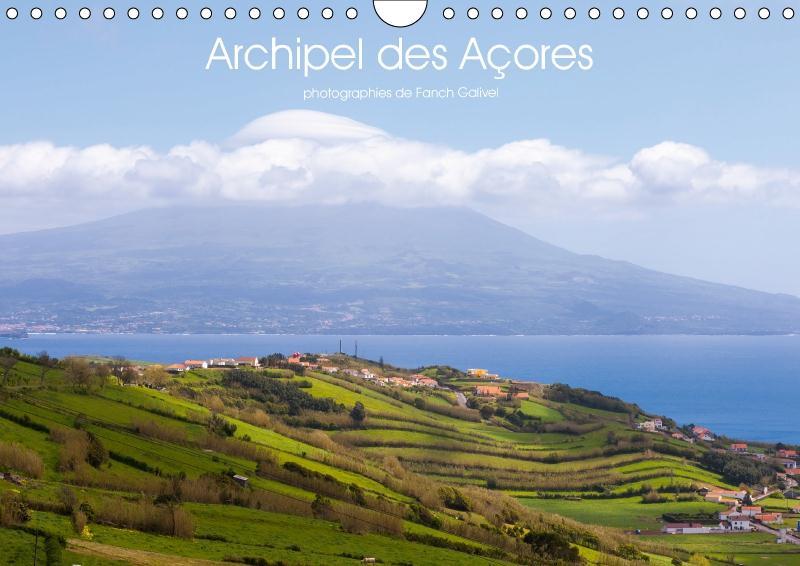 Archipel des Açores (calendrier mural 2017 DIN A4 horizontal)