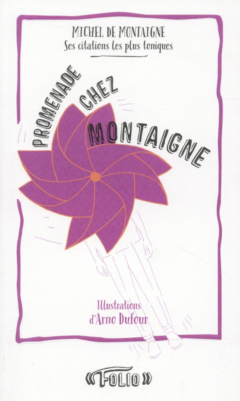 Promenade chez Montaigne ; ses citations les plus toniques