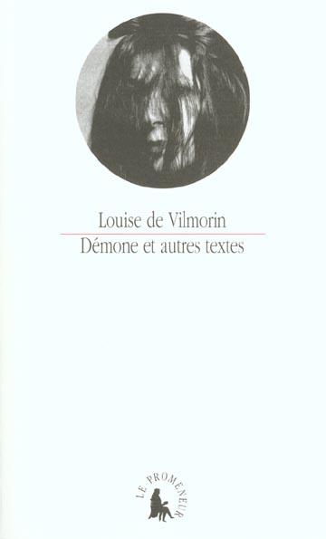 Demone et autres textes