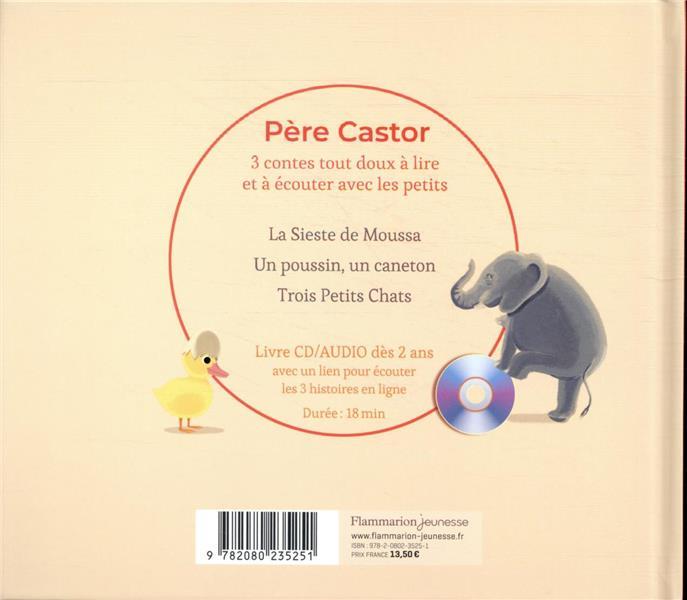 3 contes du Père Castor pour les tout-petits