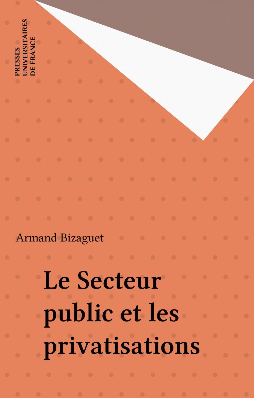Secteur public et les privatisations qsj 2414