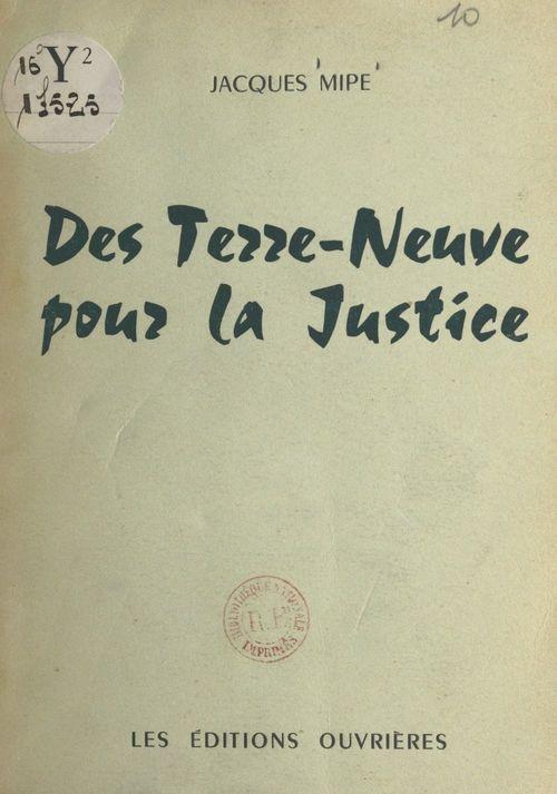 Des Terre-Neuve pour la justice