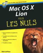 Vente Livre Numérique : Mac OS X Lion Pour les nuls  - Bob LEVITUS