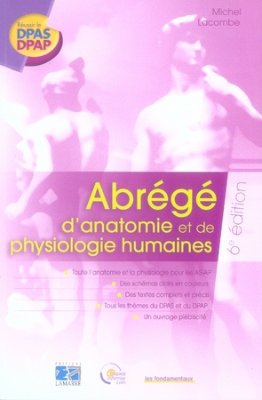 Abrege D Anatomie Et De Physiologie 6eme Edition