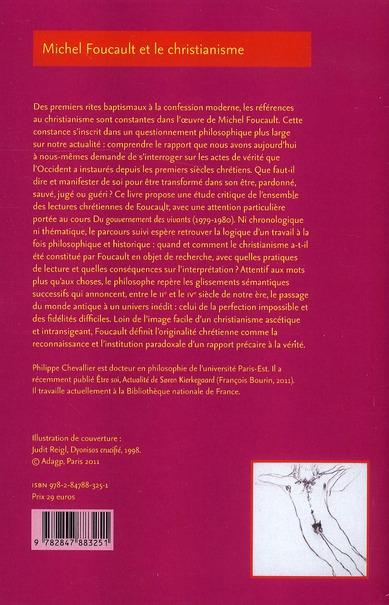michel foucault et le christianisme