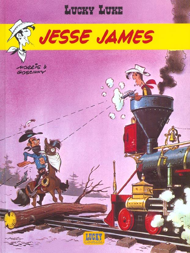 Lucky Luke T.35 ; Jesse James