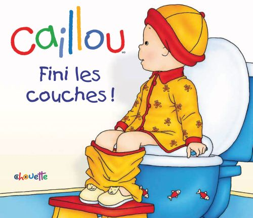 Caillou ; Fini Les Couches