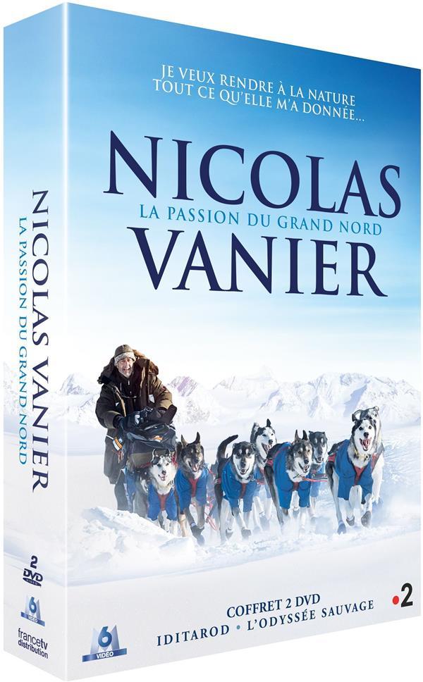 coffret Nicolas Vanier 2 films : Iditarod, la dernière course de Nicolas Vanier ; l'odysée sauvage