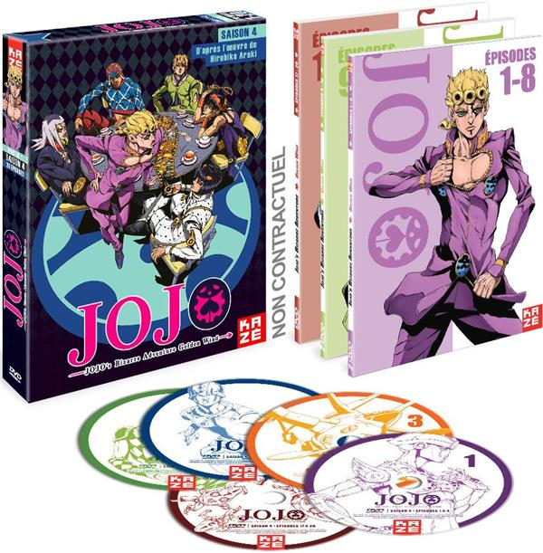 JoJo's Bizarre Adventure - Saison 4 : Golden Wind, Box 1/2