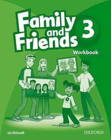Family & friends 3: workbook