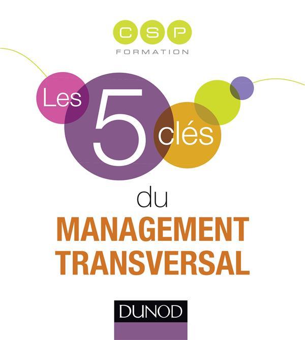 LES 5 CLES DU MANAGEMENT TRANSVERSAL CSP Formation