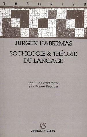 sociologie & théorie du langage
