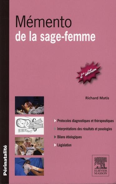 Memento De La Sage-Femme (2e Edition)