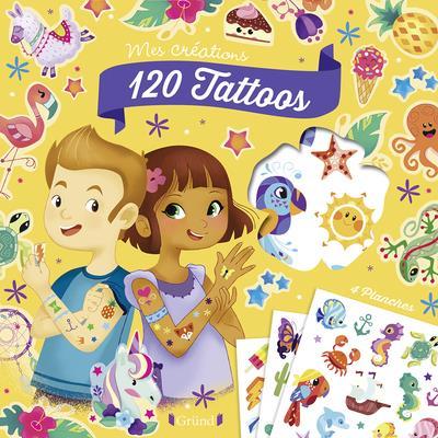 Pochette ; 120 tattoos
