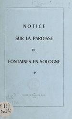 Notice sur la paroisse de Fontaines-en-Sologne