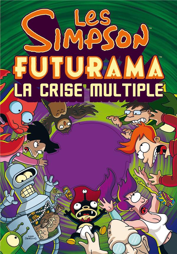Les Simpson futurama ; la crise multiple