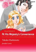 Vente Livre Numérique : Harlequin Comics: At His Majesty's Convenience  - Takako Hashimoto - Jennifer Lewis