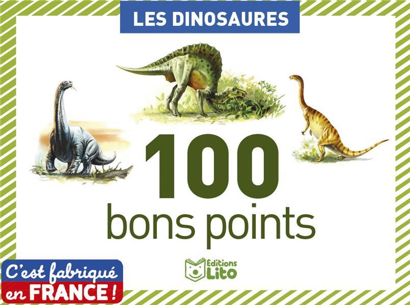 Boîte de 100 bons points ; les dinosaures